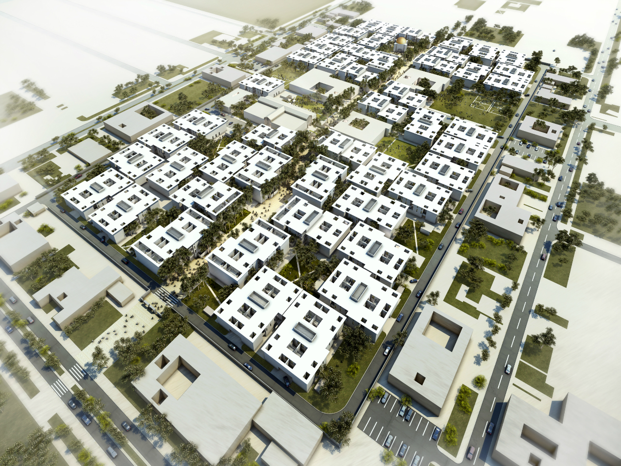 Assemblage Wins Competition For Economic Housing In Iraq