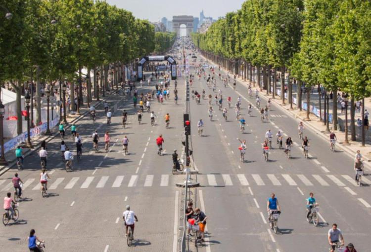 París prohibirá que circulen autos durante el Día Mundial Sin Autos 2015, © Ayuntamiento de París