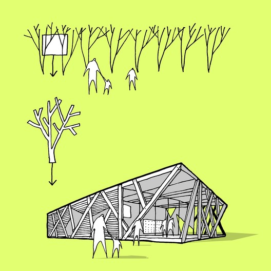 © CEBRA.  Concept Sketch