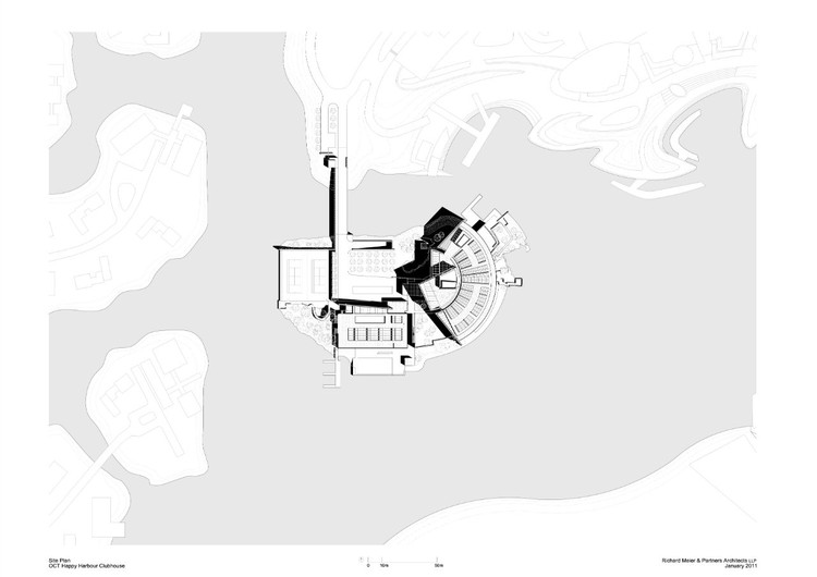 Site Plan © Richard Meier & Partners Architects LLP