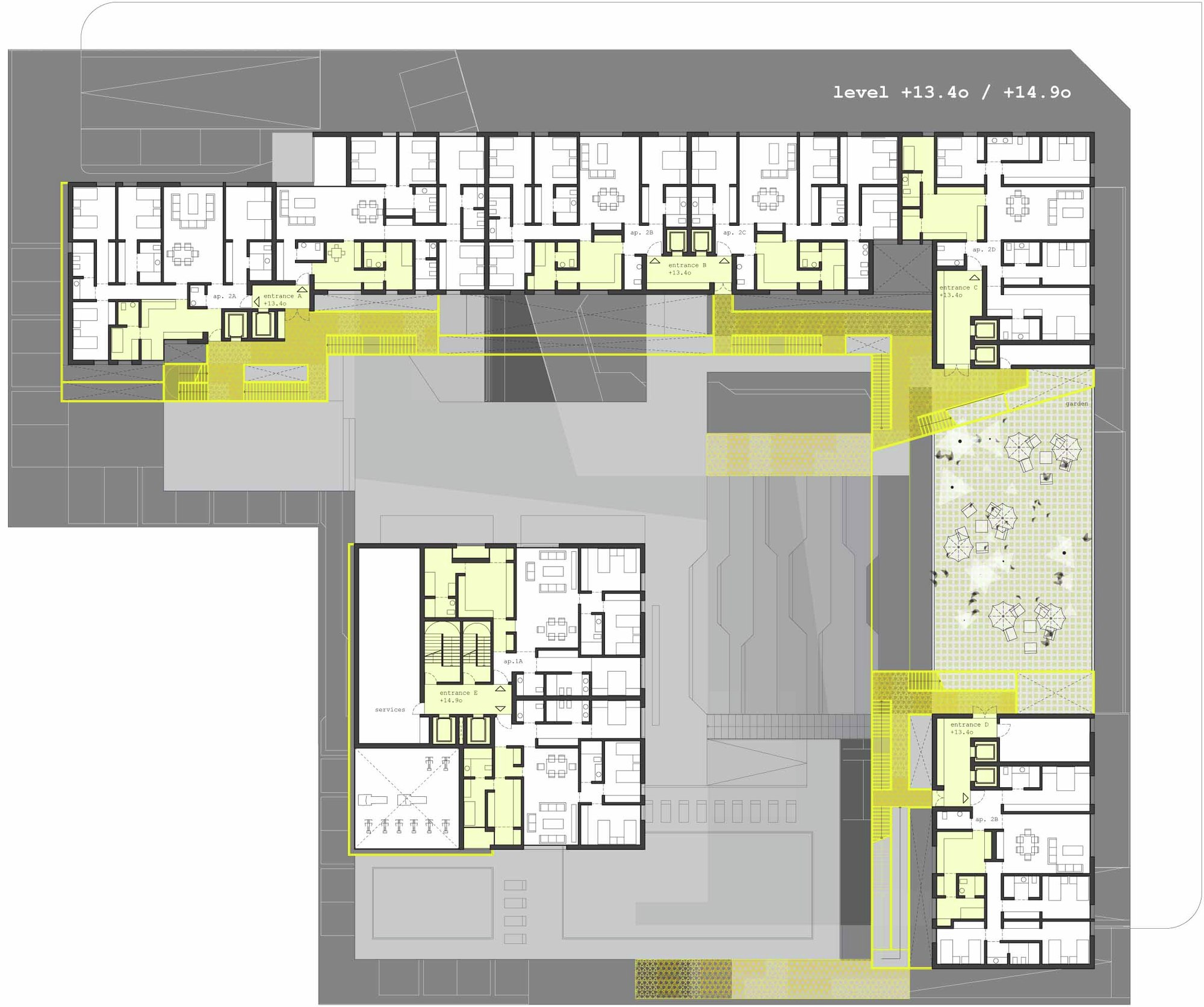 Wafra Living Complex Agi Architects Archdaily