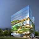 Courtesy of Unsangdong Architects: Rendering