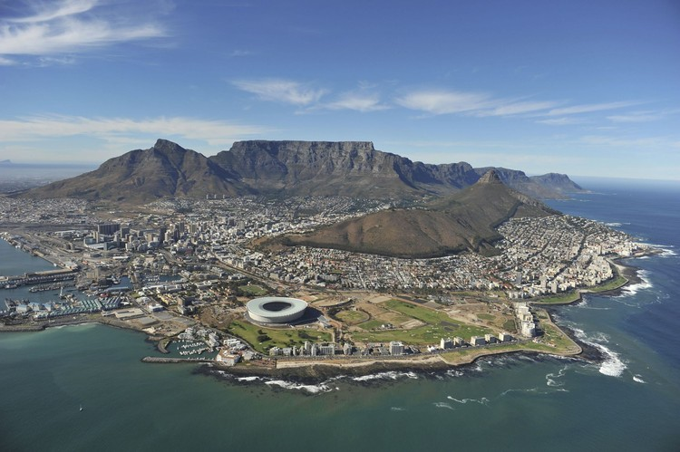 Cape Town Stadium outside, © Bruce Sutherland