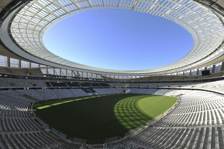 Cape Town Stadium inside, © Bruce Sutherland