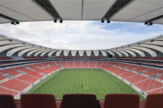 Nelson Mandela Bay Stadium inside, © Marcus Bredt