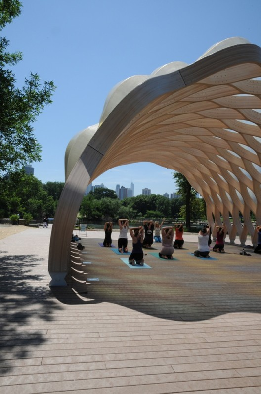 Lincoln Park Zoo South Pond by Studio Gang Architects Courtesy of Studio Gang Architects