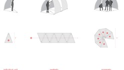 DesignByMany Rapidly-Deployable Shade Winner / Arcollab
