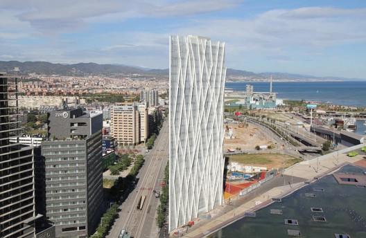 Diagonal 00 Telefonica Tower / © mylapse