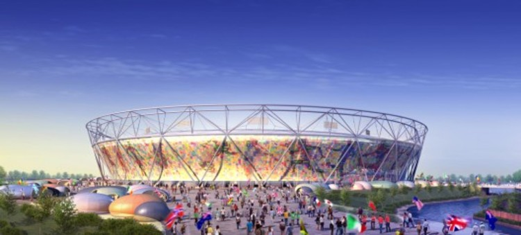London 2012 Olympic Stadium / Courtesy of Populous