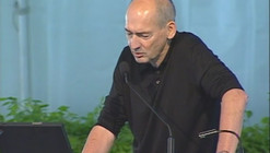 Video: Rem Koolhaas and Peter Eisenman on today's critical architectural discourse issues