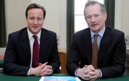 John Penrose MP (R) and Prime Minister David Cameron MP (L), johnpenrose.org