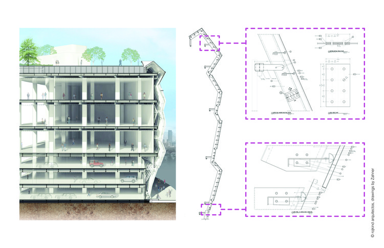 Building section and Technical Drawings