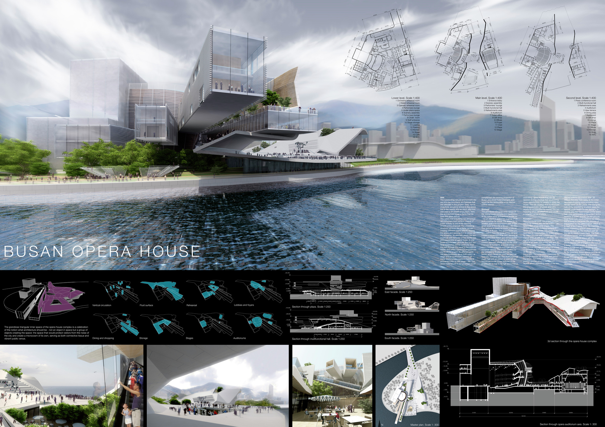 Gallery of busan opera house proposal ayrat khusnutdinov 1 Home architecture competition