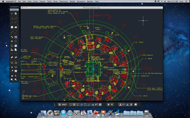 AutoCAD LT 2012 for Mac