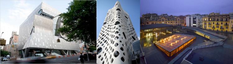 (L to R): Thom Mayne/Morphosis, Jesse Reiser/RUR Architecture, Odile Decq/Odile Decq Benoît Cornette