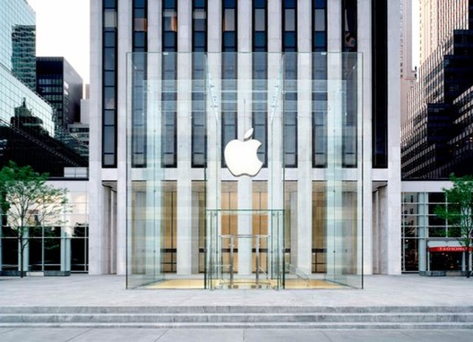 Rendering of the new cube © Apple