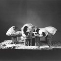 Model of Frederick Kiesler's Endless House (1950–60). Image © The Museum of Modern Art, New York. Department of Architecture and Design Study Center. Photographer: George Barrows