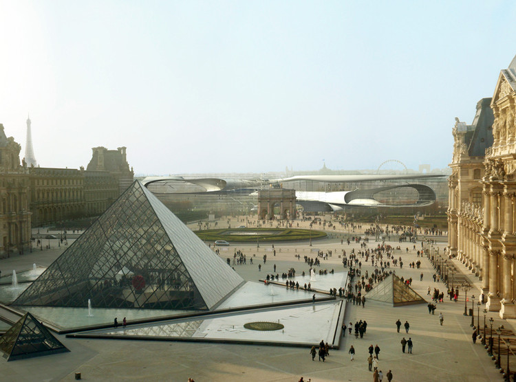 Extending the louvre carl fredrik svenstedt architecte for Architecte paris