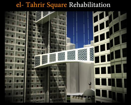 Community Winner: Not Just a Bridge (Rehabilitation El-Tahrir Sq.) / Kareem Aldali