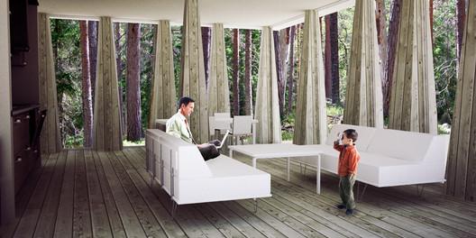 Wood Interior © Visiondivision