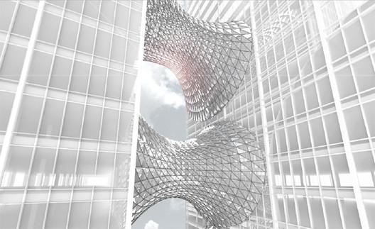 Connective Atrium / Collin Anderson