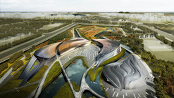 waa Wins 1st Place in Xian International Wetland Park Competition