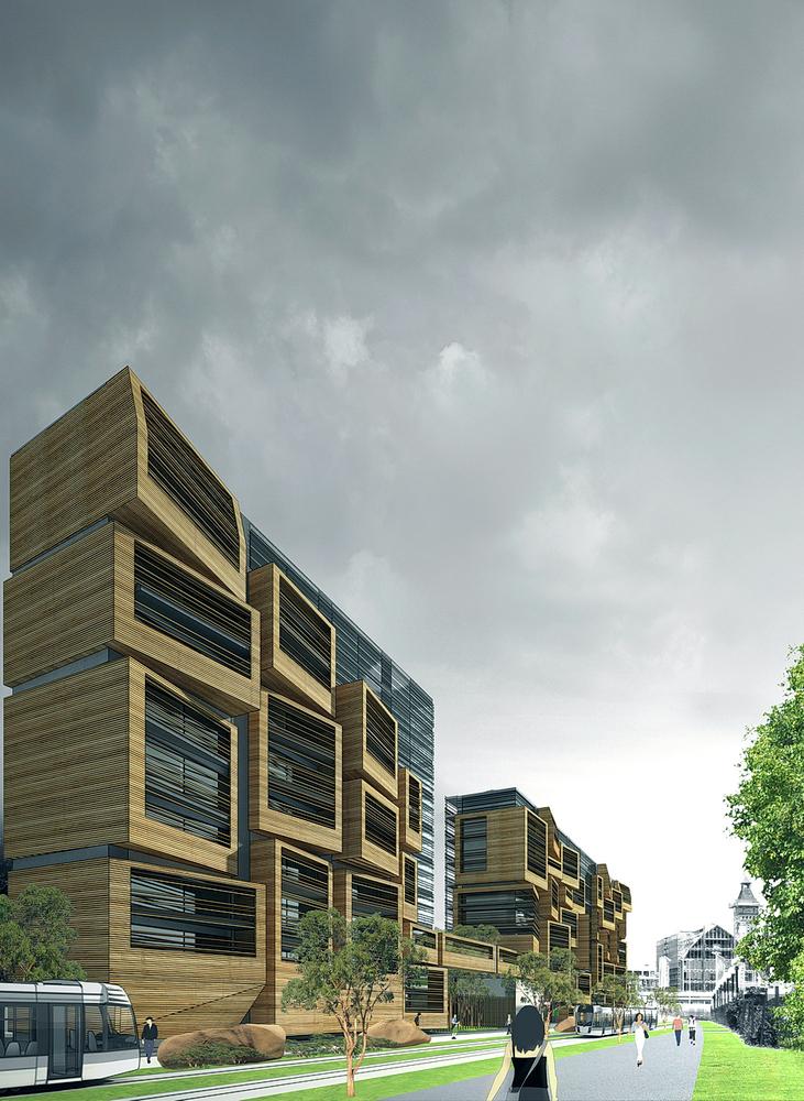 gallery of in progress: student apartment studios in paris / ofis - 6