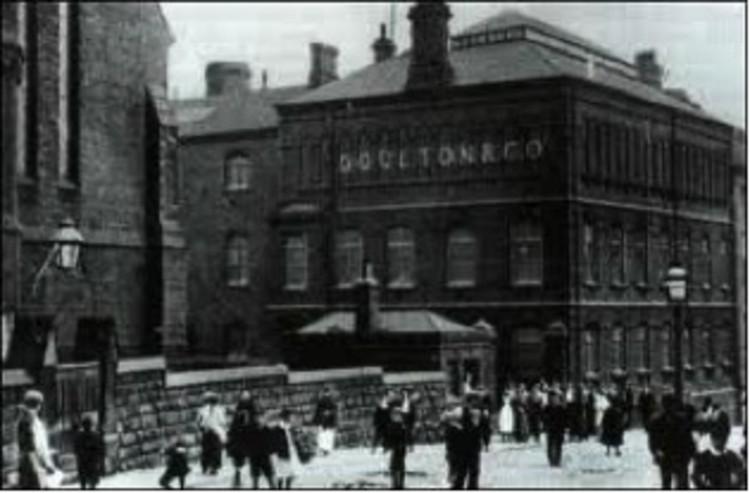Victorian era Doulton factory, via www.thepotteries.org