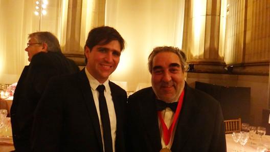 ArchDaily editor David Basulto and Eduardo Souto de Moura