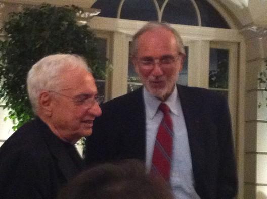 Frank Gehry and Renzo Piano, photo by Giovana Franceschetto