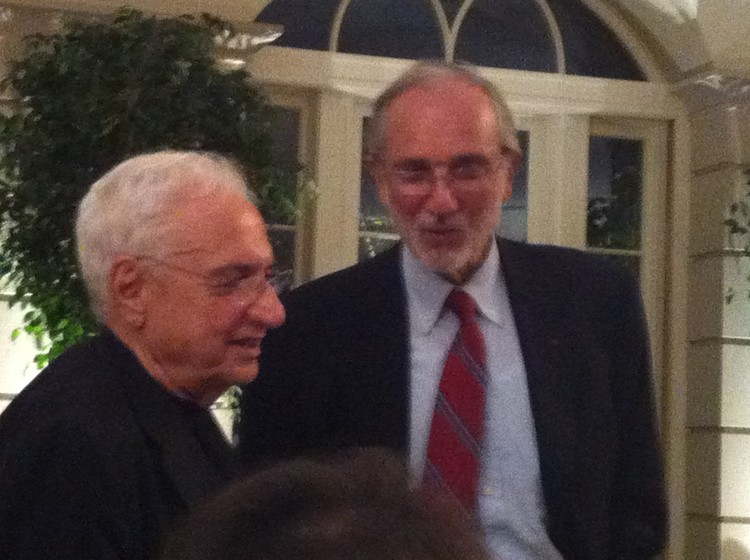 Frank Gehry and Renzo Piano, photo by Giovana Franceschetto
