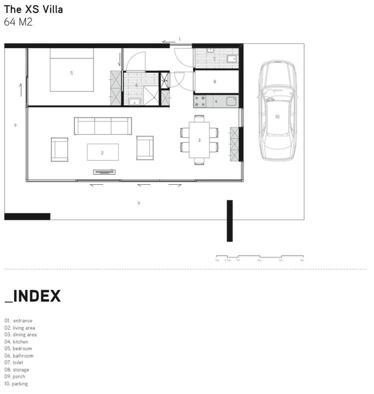 XS Villa Plan