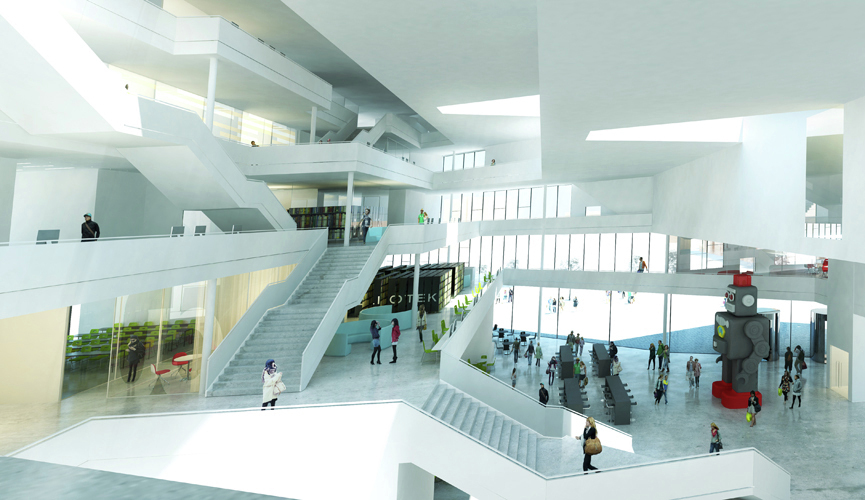 Gallery of sino danish centre for education and research for Architect education