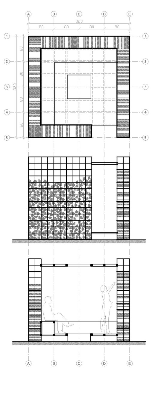 plan + section + elevation