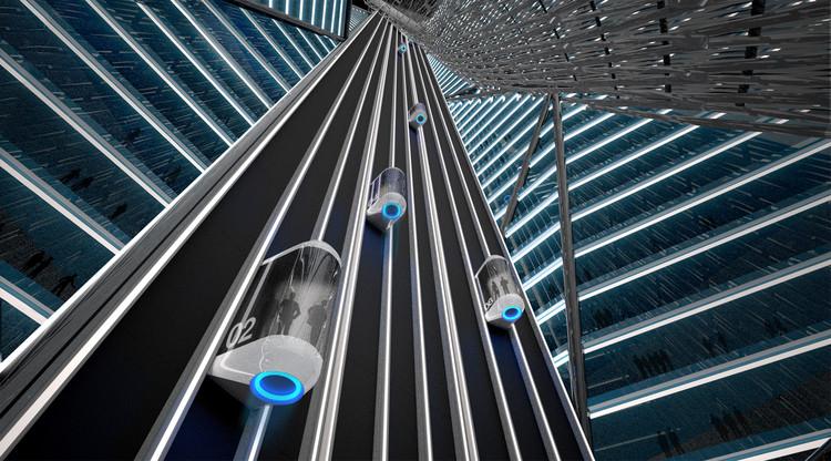 elevator core
