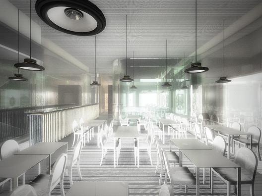 Thermal Exchange Bar © Dorval-Bory + Bétillon