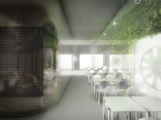 Air Filtration Restaurant © Dorval-Bory + Bétillon
