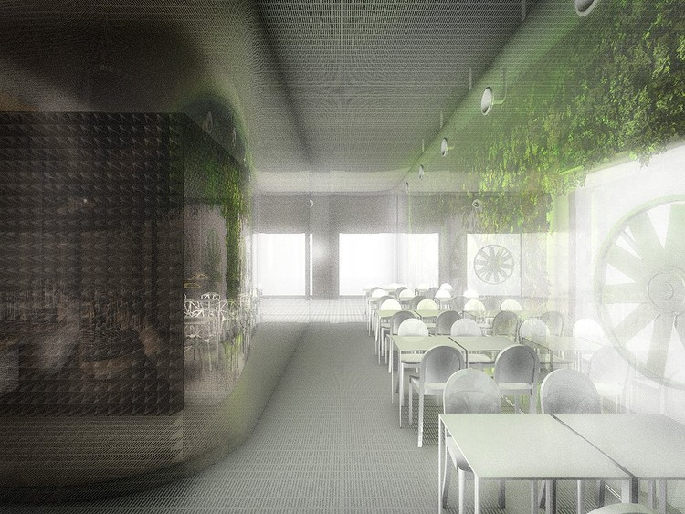 Air Filtration Restaurant © Dorval-Bory + Bétillon