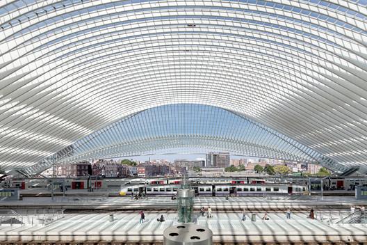 Liège-Guillemins high-speed station / Santiago Calatrava