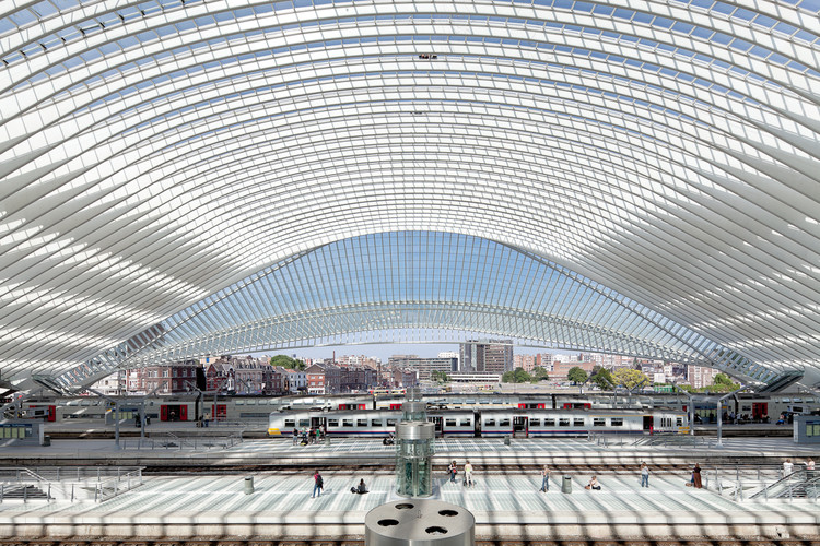 Liège-Guillemins high-speed station / Santiago Calatrava