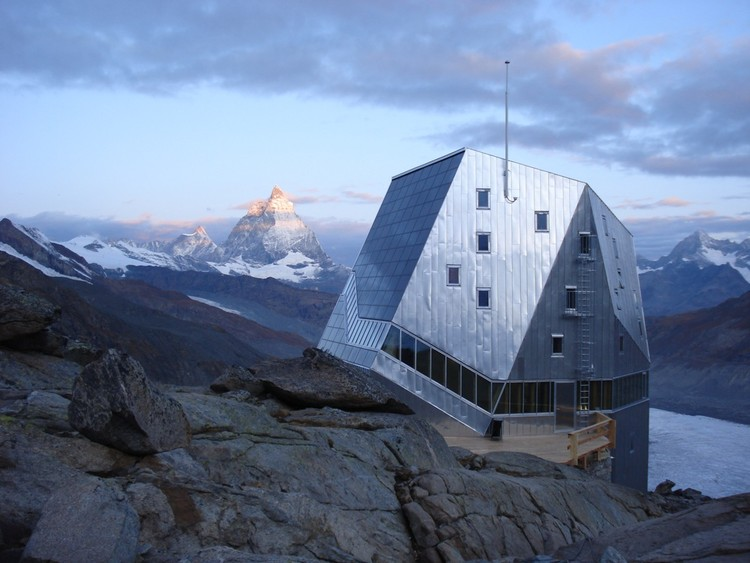 Monte Rosa Hut, Courtesy of Holcim Awards