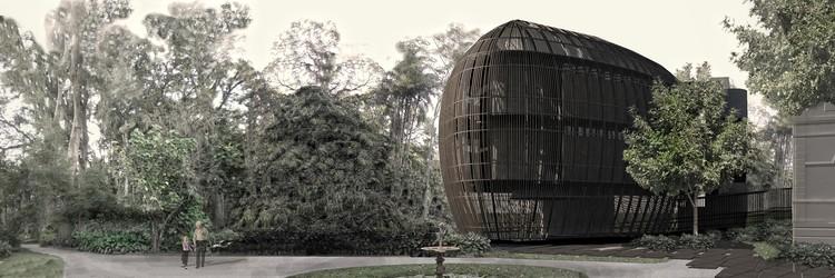 © Environment Museum Annex Competition (Botanical Garden of Rio de Janeiro)