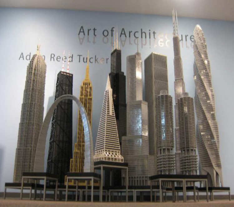 LEGO Architecture: Towering Ambition / Adam Reed Tucker