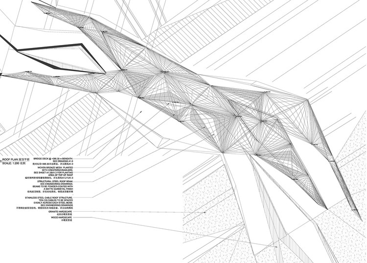 Roof Plan © Plasma Studio