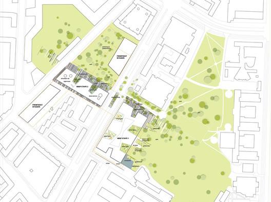 Site Plan © Niels Bohr Science Park Winning Team