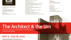 The Architect and the Urn exhibit