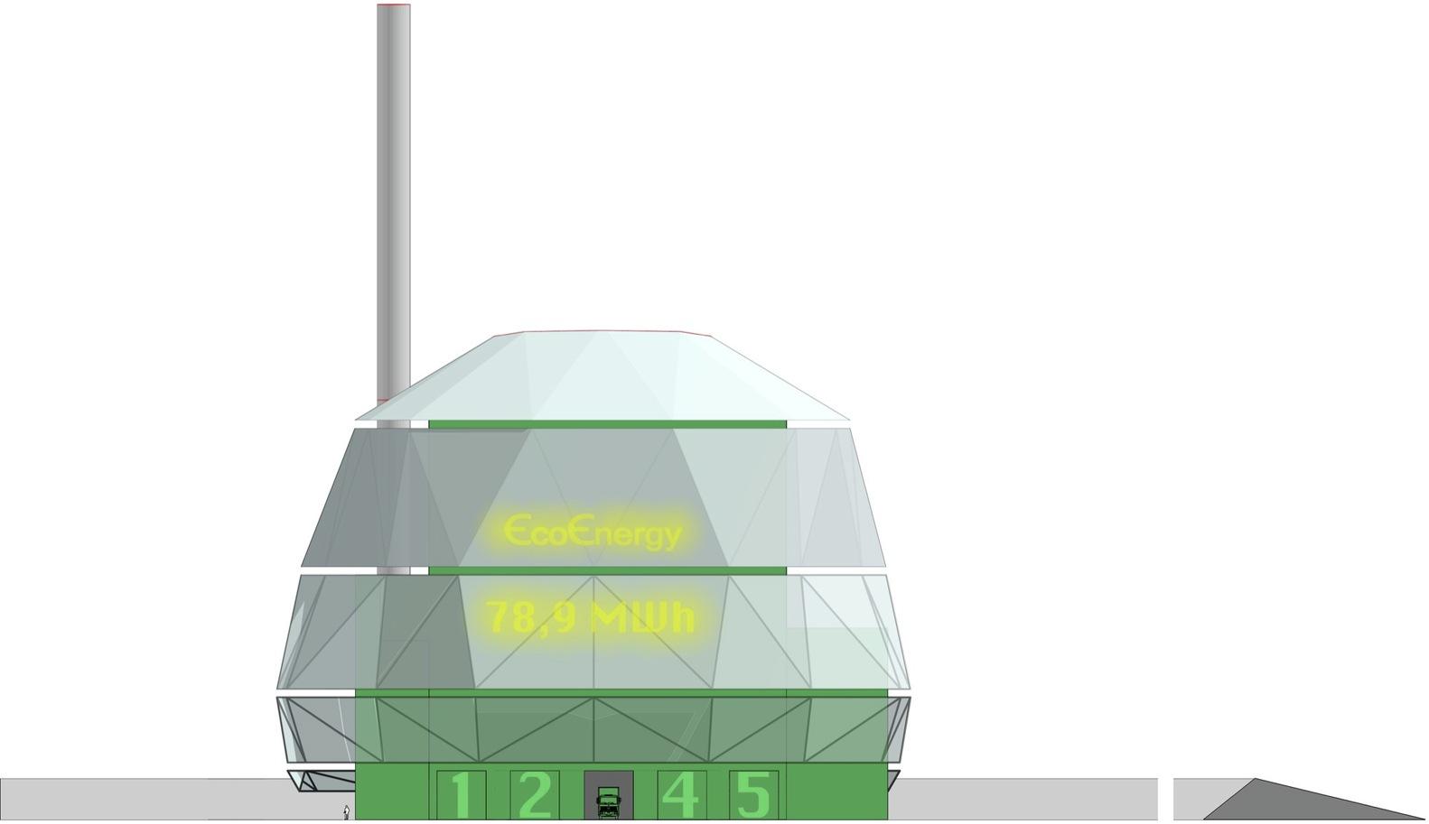 Gallery of eco energy plant urban design 10 - Auchan eco energie ...