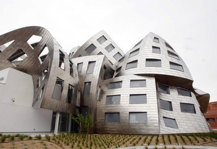 Cleveland clinic lou ruvo center frank gehry archdaily for Dujardin franck