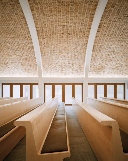 chapel in aalen forest c18 architekten archdaily. Black Bedroom Furniture Sets. Home Design Ideas