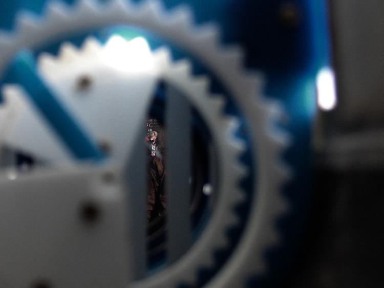 Image through a Permeascope
